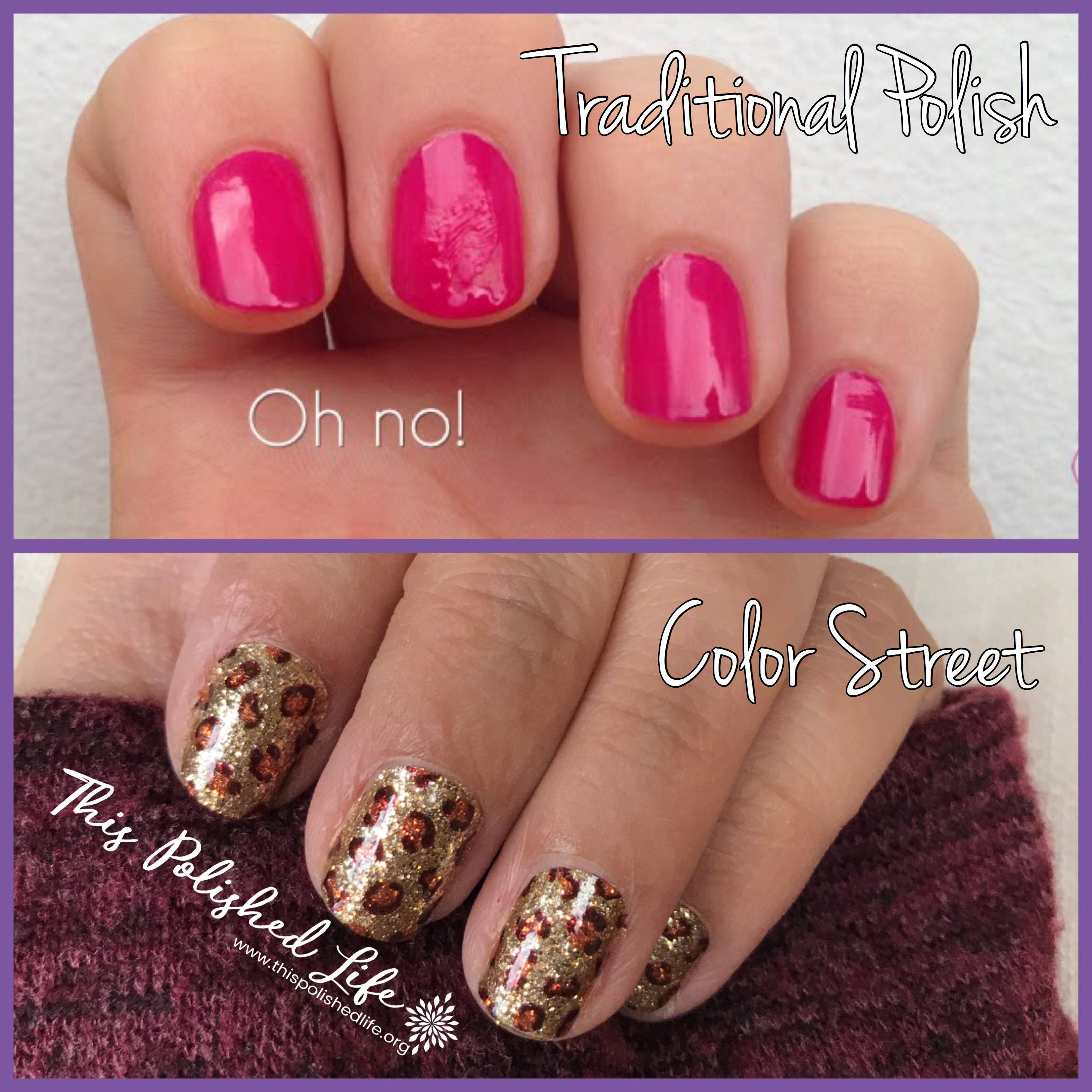 What do you hate about traditional polish? Color Street nail polish ...