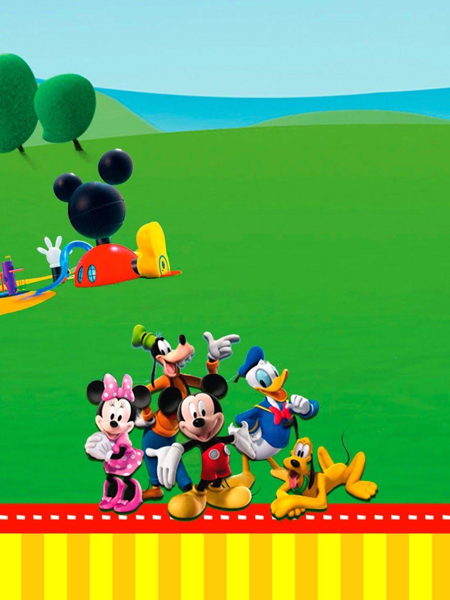 Ideas Y Material Gratis Para Fiestas Y Celebraciones Oh My Fiesta Casa Invitaciones De Cumpleanos De Mickey Mouse La Casa De Mickey Mouse Tarjetas De Mickey