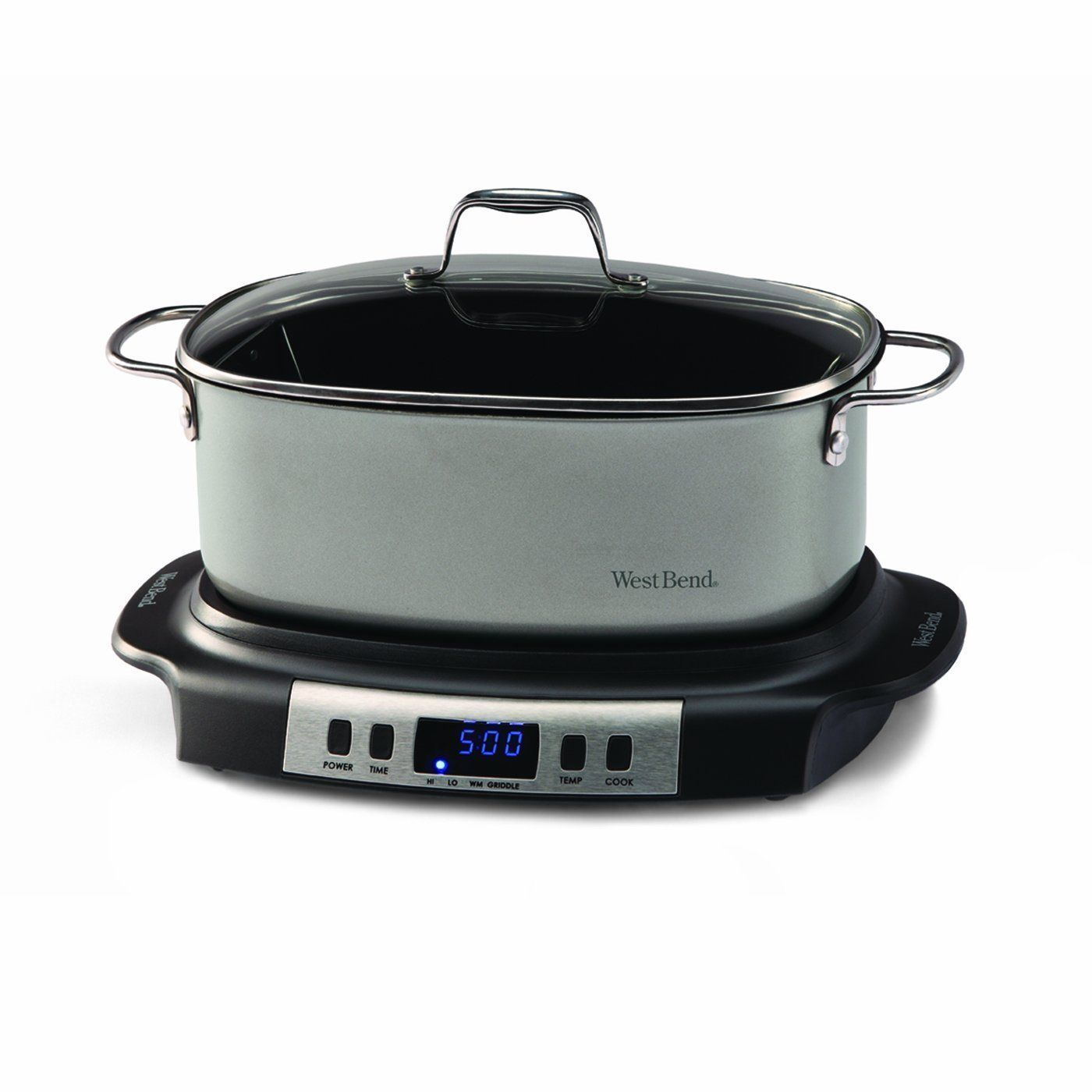 Uncategorized West Bend Kitchen Appliances west bend 84966 versatility oval shaped 6 quart programmable explore slow cooker best and more