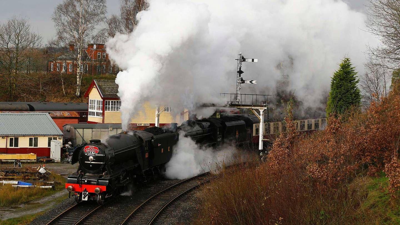 Legendarisk lokomotiv tilbake på skinnene - Aftenposten