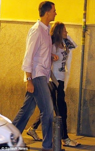 After an official visit to Morocco, Felipe and Letizia have enjoyed a relaxing evening in Madrid