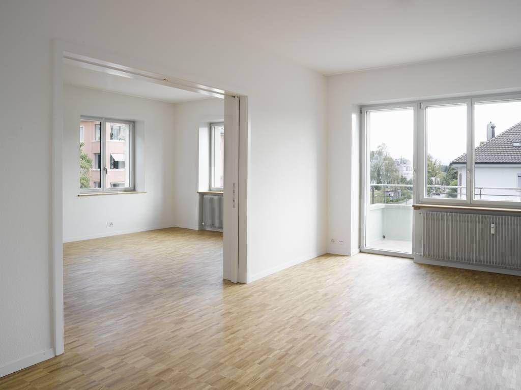 Moderne Wohnzimmer Bilder Sanierung eines Wohnhaus in Bern - architekt wohnzimmer
