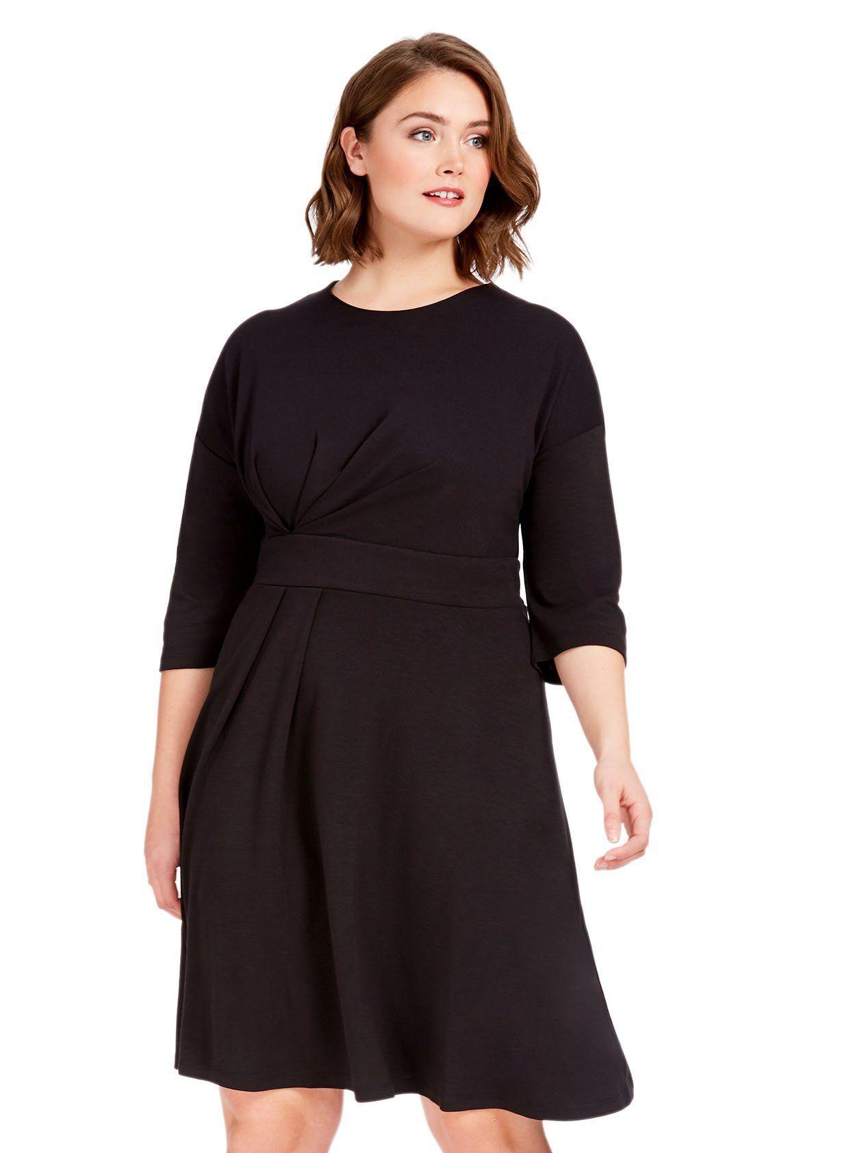 d0e94218099 Asymmetrical Pleated Dress