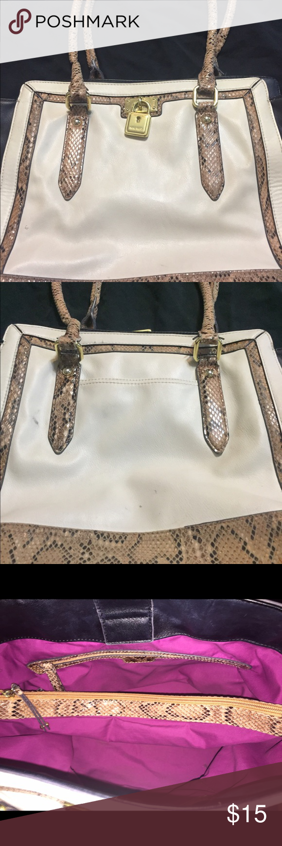 Nine West purse Spacious no stains only 15$ Nine West Bags