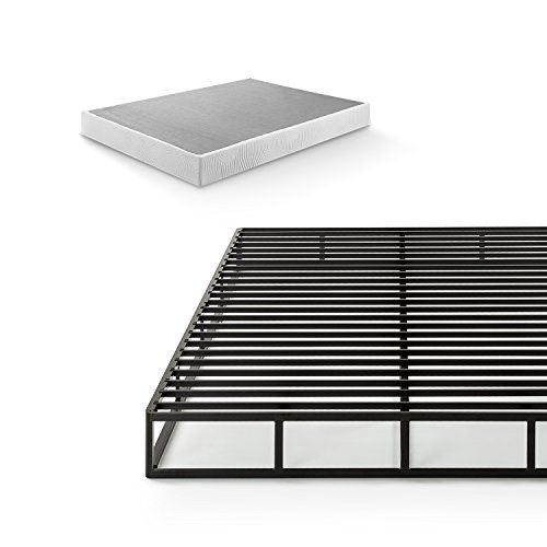 Zinus Victor 7 5 Inch Quick Lock Smart Box Spring Mattress Foundation Strong Steel Structure Easy Assembl Mattress Box Springs Mattress Foundations Zinus