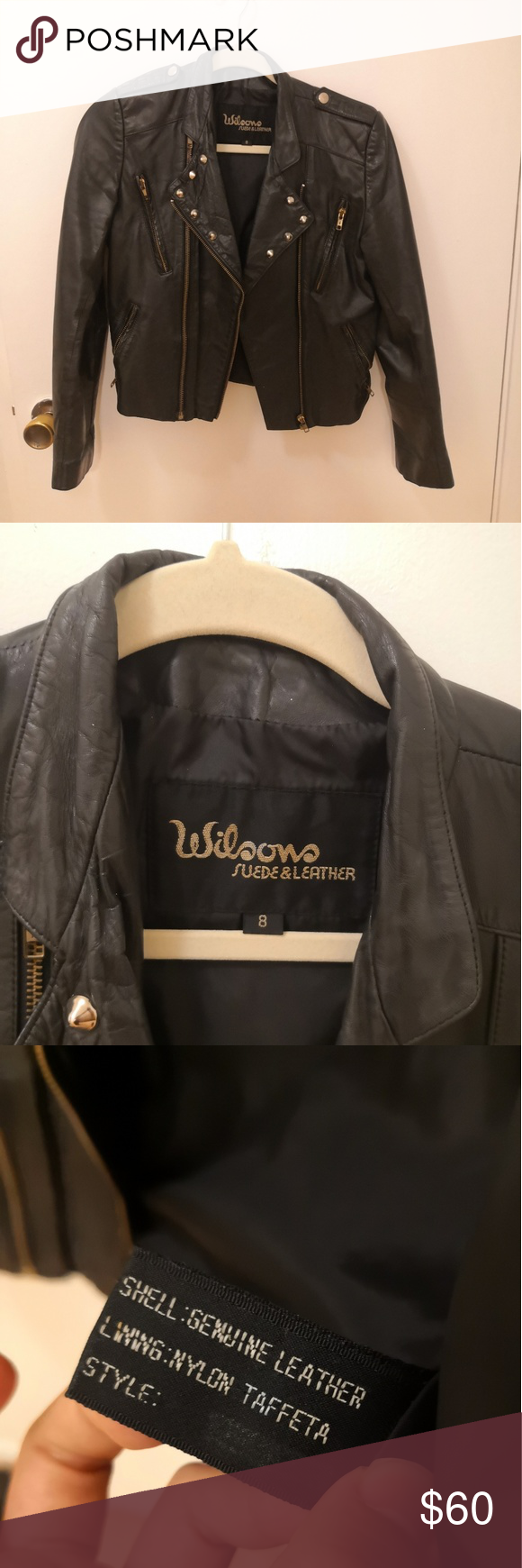Wilson Leather Jacket size 8 (XS/S) Leather jacket