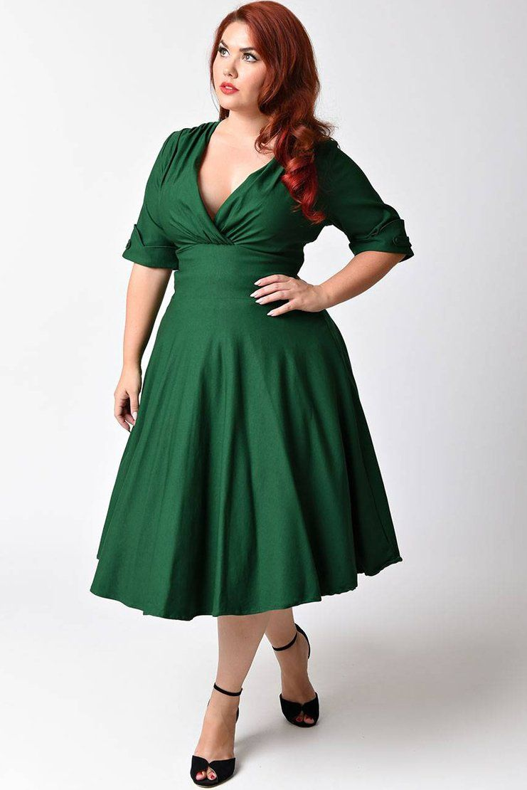 c3c8f3fc089 ... trim and tailored half sleeves with darling button detail and a wide  banded natural waistline that creates a slimming silhouette. A savage  A-line swing ...
