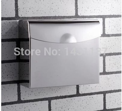(Buy here: http://appdeal.ru/h75 ) Total 304 Stainless Steel  material never rust  bathroom paper holder convenient use for hotel or school for just US $34.70