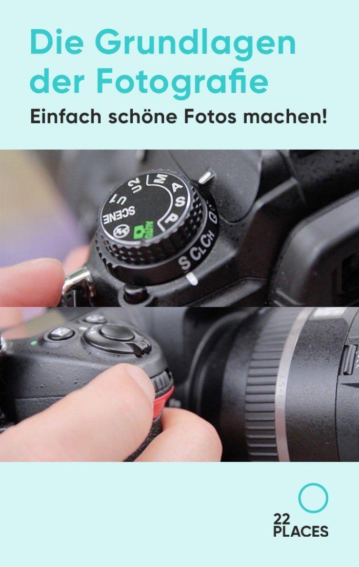 Grundlagen der Fotografie: Einfach schöne Fotos machen!