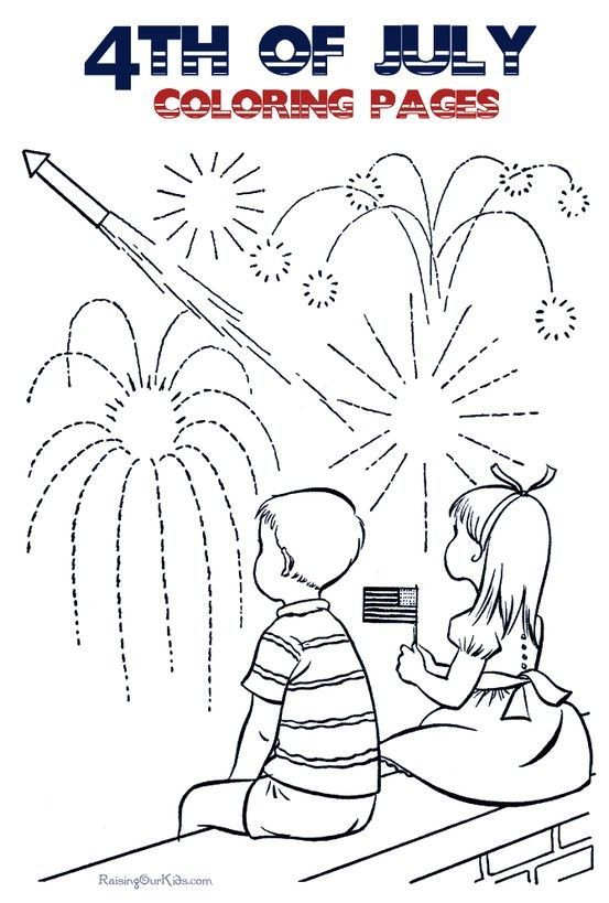 4th of July Coloring Pages - Many to choose - FREE printable fun - new 4th of july coloring pages preschool
