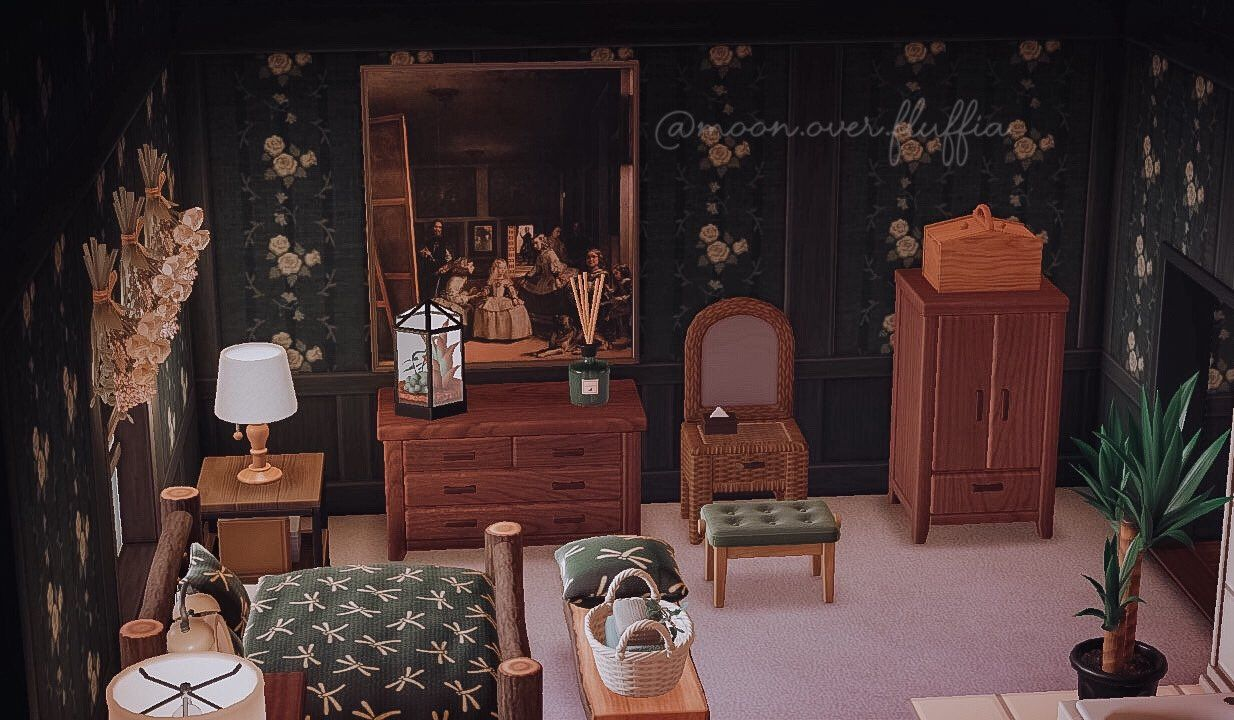 Acnh antique bedroom ideas