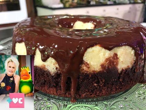 Bolo Pudim De Chocolate Com Ana Maria Braga Youtube Bolo Pudim