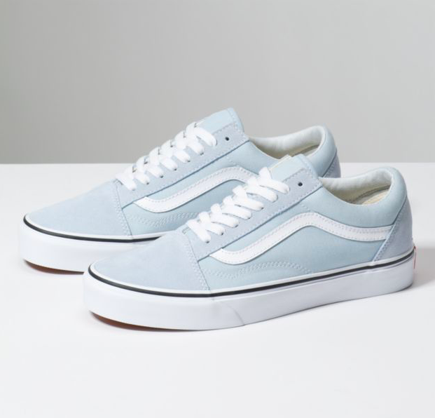 Details about New Vans Old Skool Zip Antique Leather Green White Dress Skate Shoe Women Size 5