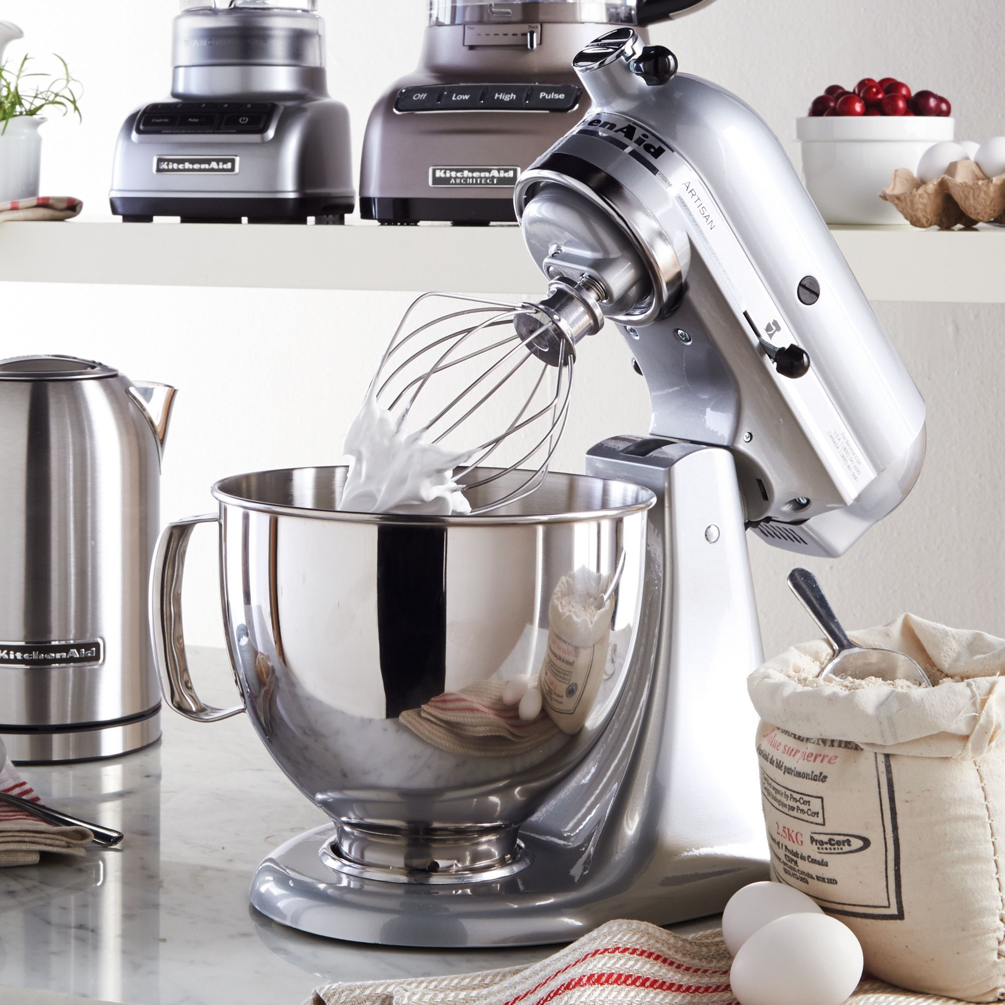 KitchenAid® Artisan® Stand Mixer   Metallic Chrome #SearsWishlist