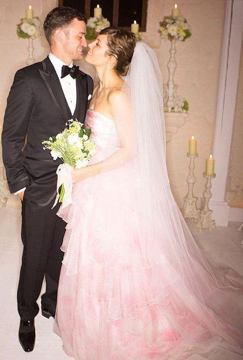 Hy Birthday Jessica Biel Looking Back At And Justin Timberlake S Wedding Photos