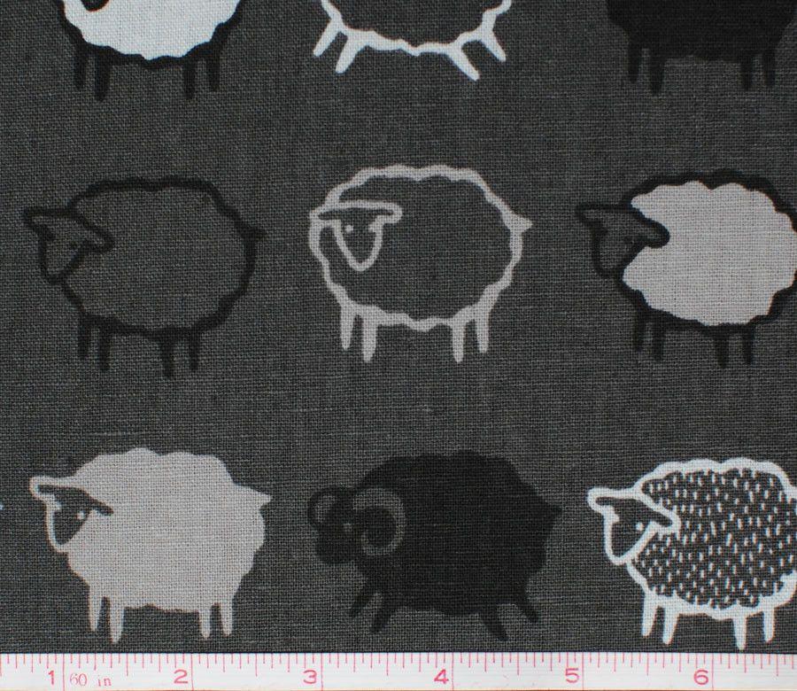 Baa Baa Black Sheep - Grey and Black - Kiyohara | papeles ...