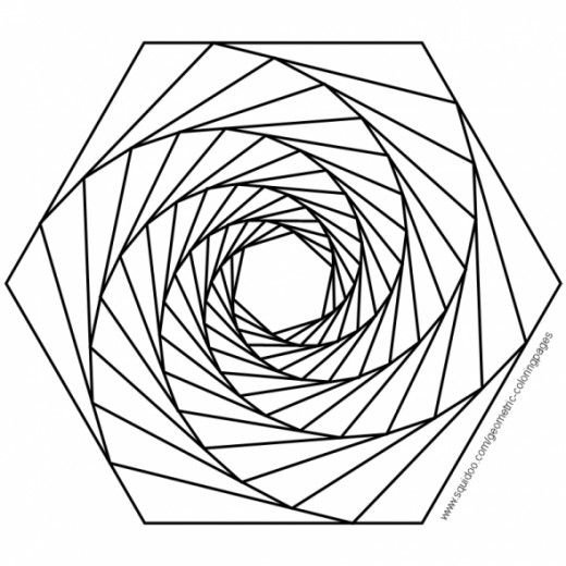 Geometric Coloring Pages | Patterns