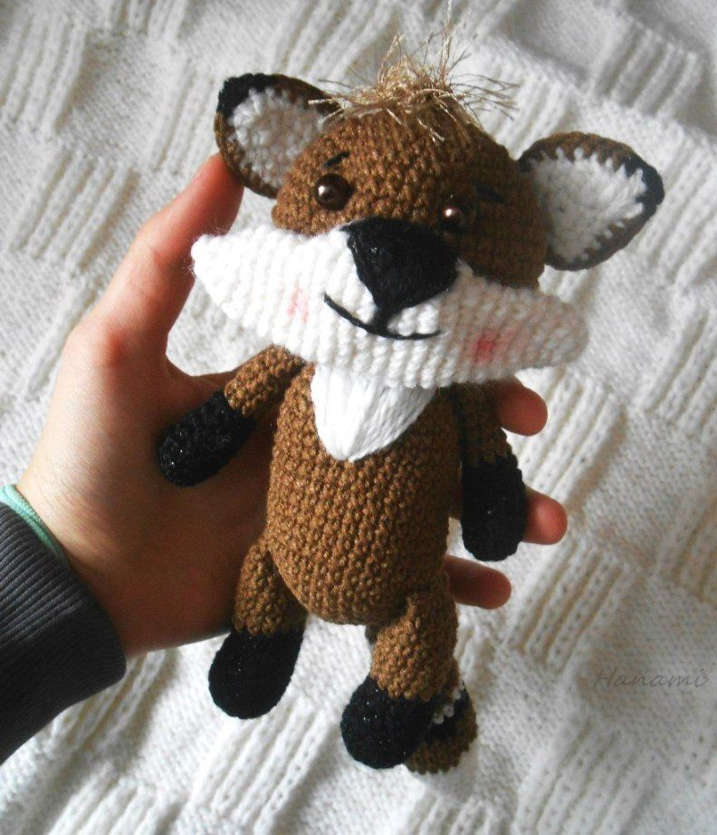 Patrón de ganchillo amigurumi raccoon gratis   amigurumi   Pinterest ...