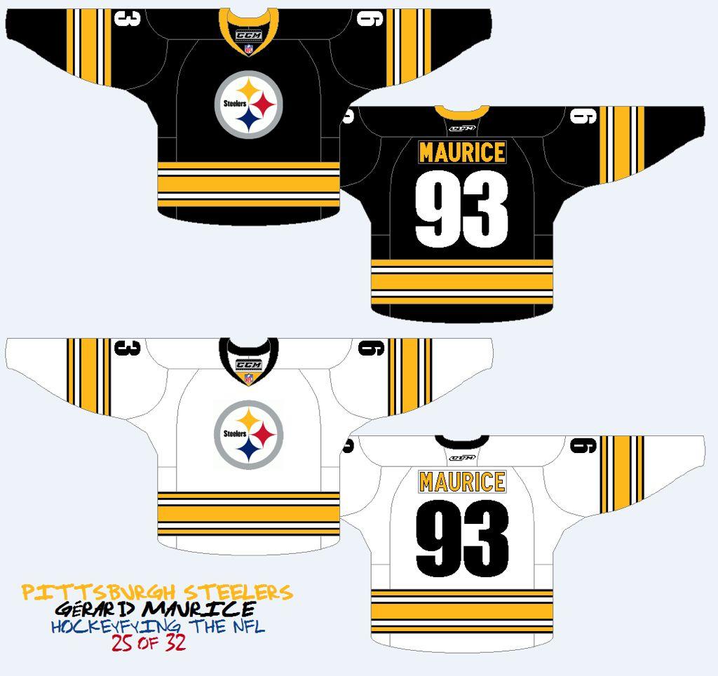 steelers hockey jersey  6dd0808e210