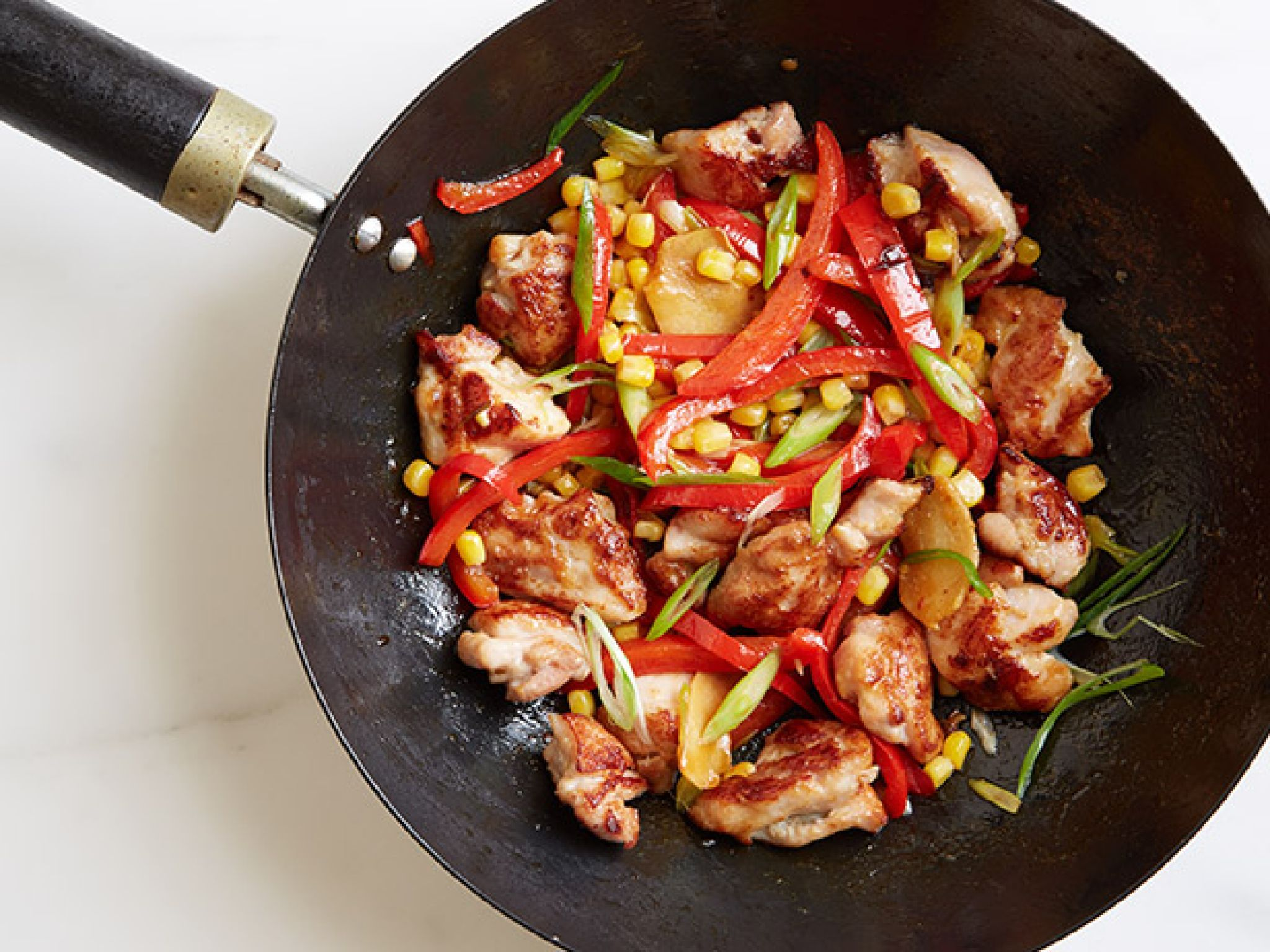 Chicken pepper and corn stir fry recipe stir fry get this all star easy to follow chicken pepper and corn cheap healthy dinnershealthy forumfinder Images