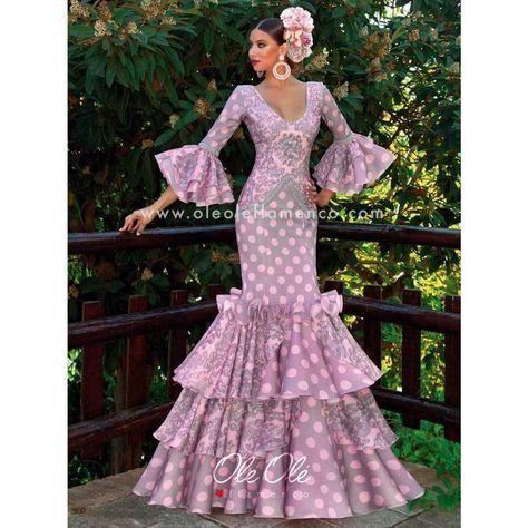 cabb8ba396d7 Flamenco Sevillana Amatista Gown Dress   Fabulous Flamenco ...