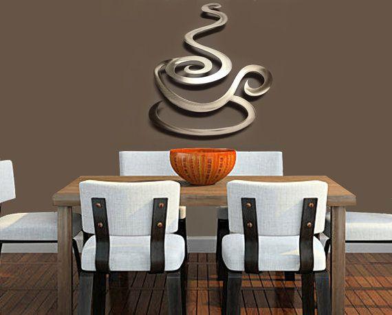 Coffee Kitchen Metal Wall Art Coffee Art Coffee Metal Art