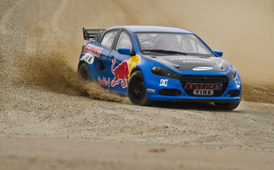 Dodge Dart Global Rallycross Car Driven By Travis Pastrana All Wheel Drive And 600 Horse