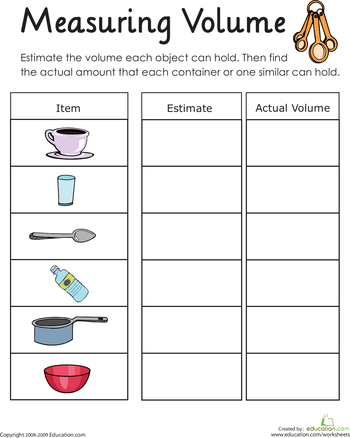 Hooty's Homeroom: Volume | Math | Pinterest | Teaching, Notebooks ...