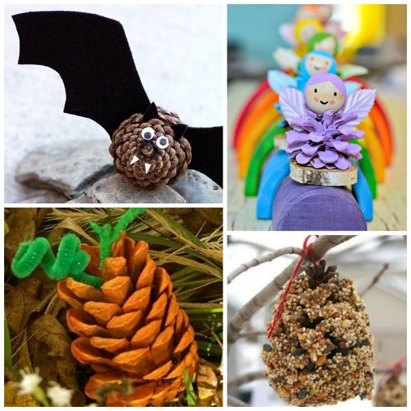 Pine Cone Crafts For Kids Pinecone Crafts Pinterest Pine Cone