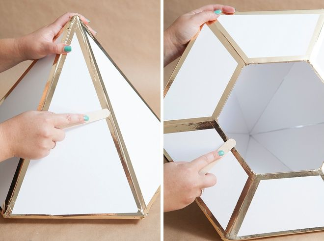 Wedding Card Box Ideas To Make Part - 32: Learn How To Make This Giant, DIY Wedding Card Box Diamond!