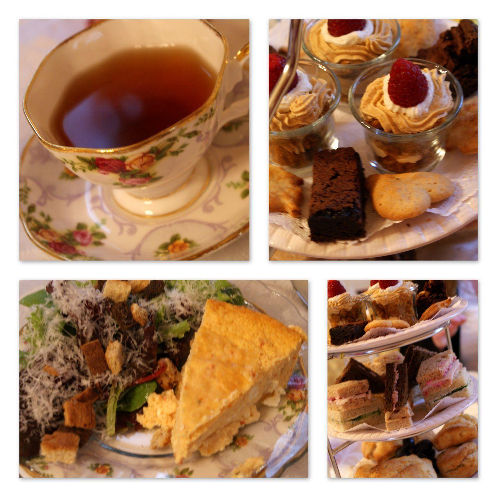 high tea menu  A Little Loveliness with Melissa Lester