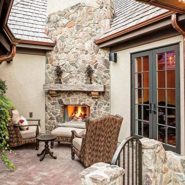20 Best Stone Fireplace Ideas for a Cozy Home in 2019, # ...