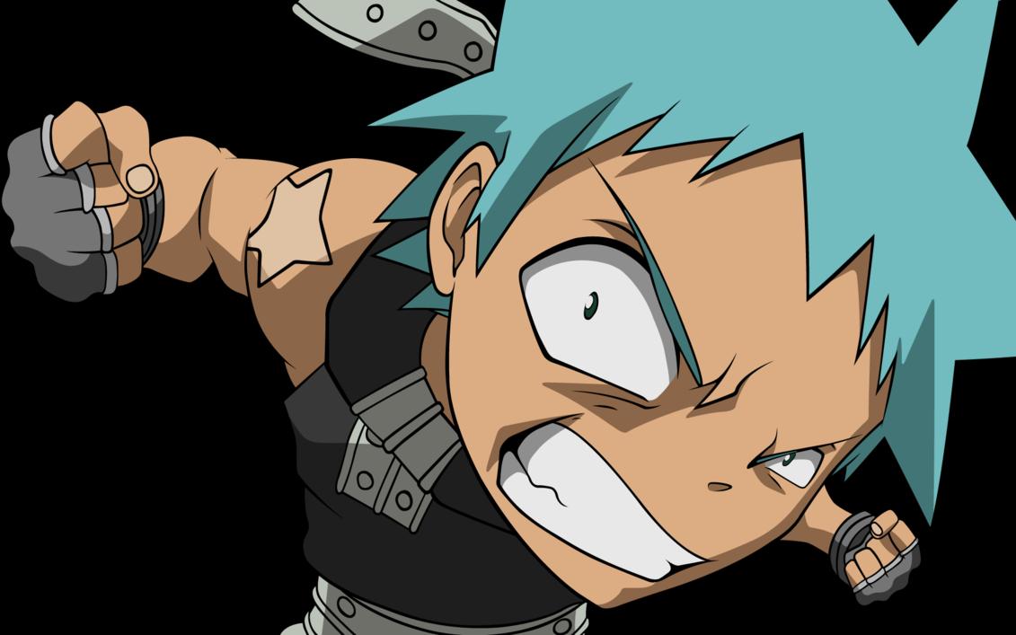 Black Star Punch By Irishanon On Deviantart Black Star Soul Eater Soul Eater Best Anime Shows