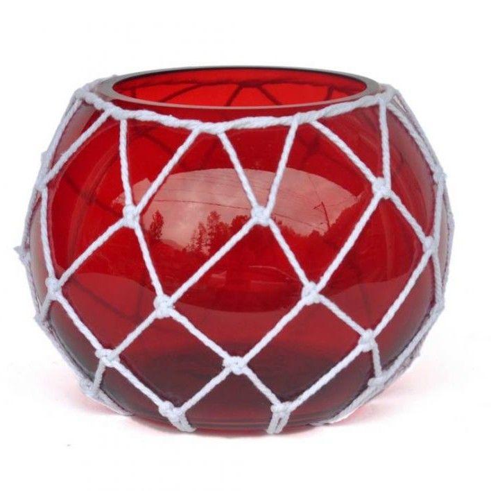 Japanese Glass Fishing Float Decorative Bowl