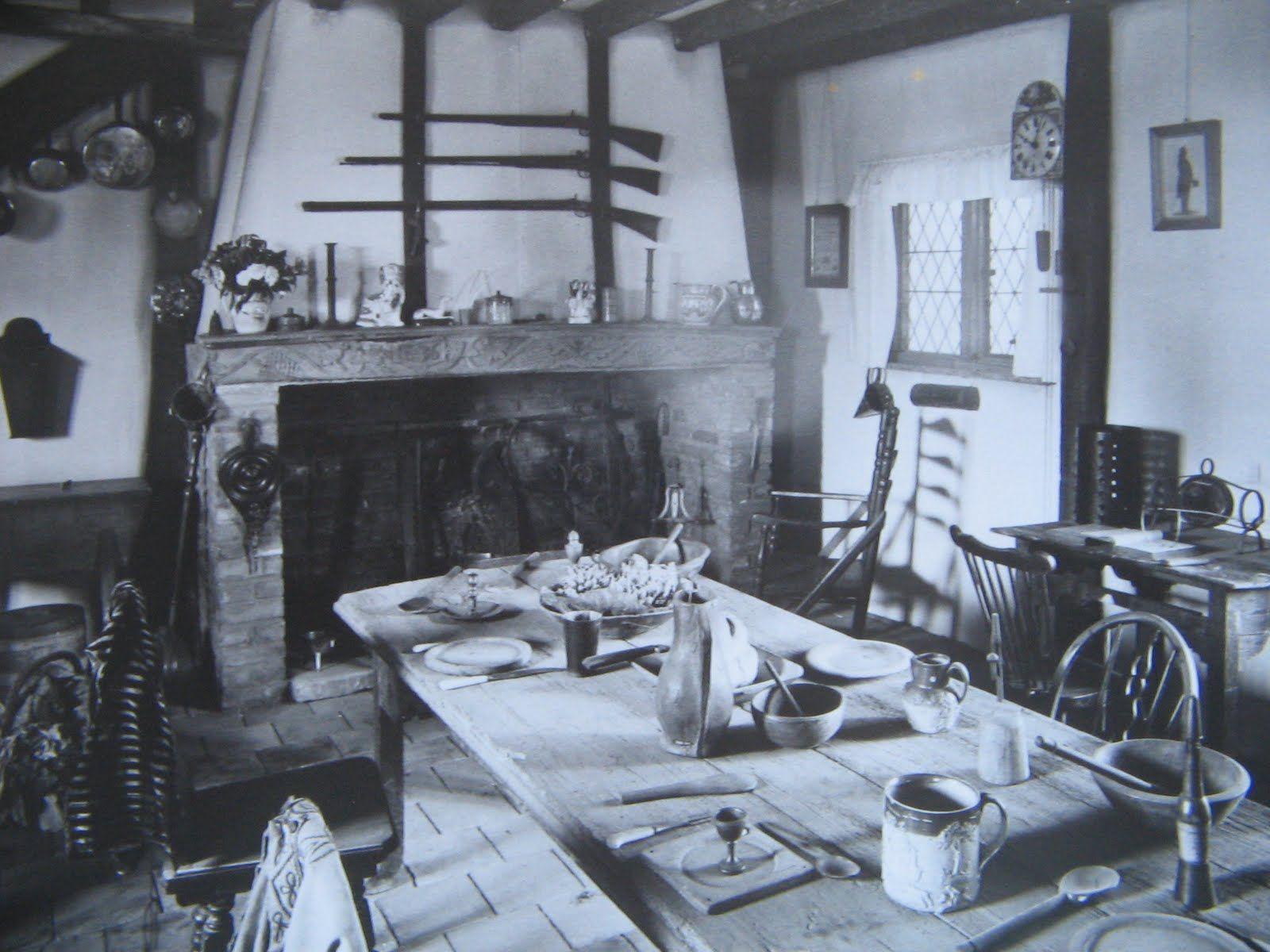 kitchen design old kitchen 1910   interior view of the kitchen furnished in the      rh   pinterest com