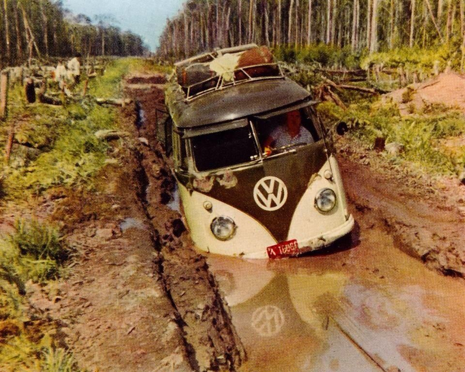 What the heck is wrong with this guy,,,not a thing Vw