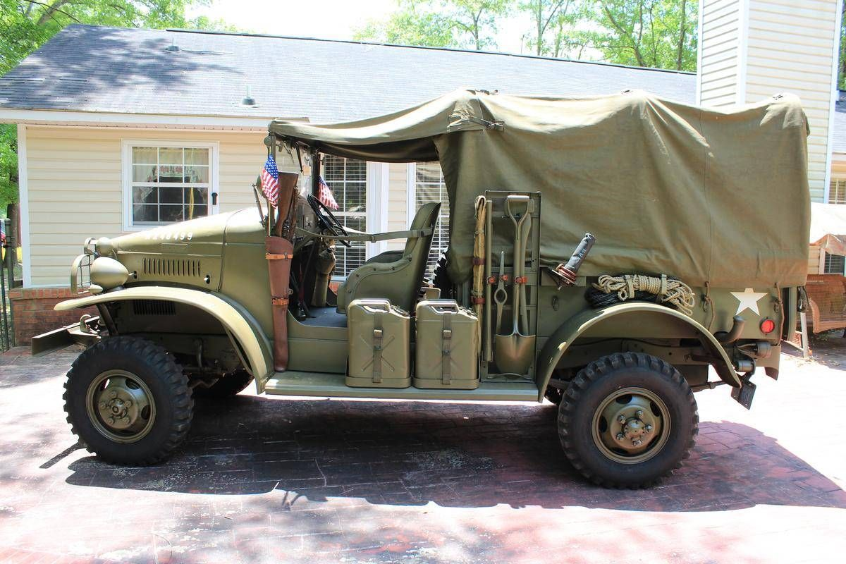 Vehicles For Sale: 1942 Dodge WC WC-21, ½ Ton, Open Cab For Sale #1867995