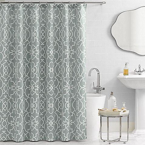 Vue® Signature Iron Gates 72-Inch x 72-Inch Shower Curtain - bed ...