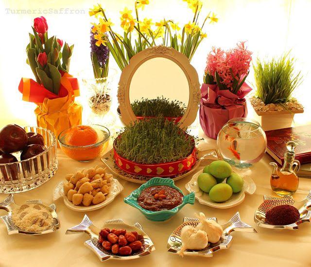 Haft Seen Photos - Eid-e Nowruz!   Haft seen, Nowruz table, Nowruz ...