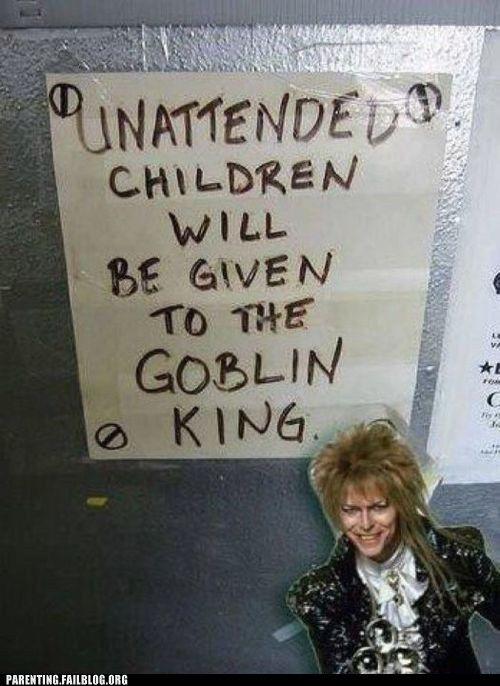 Beware of the goblin king!