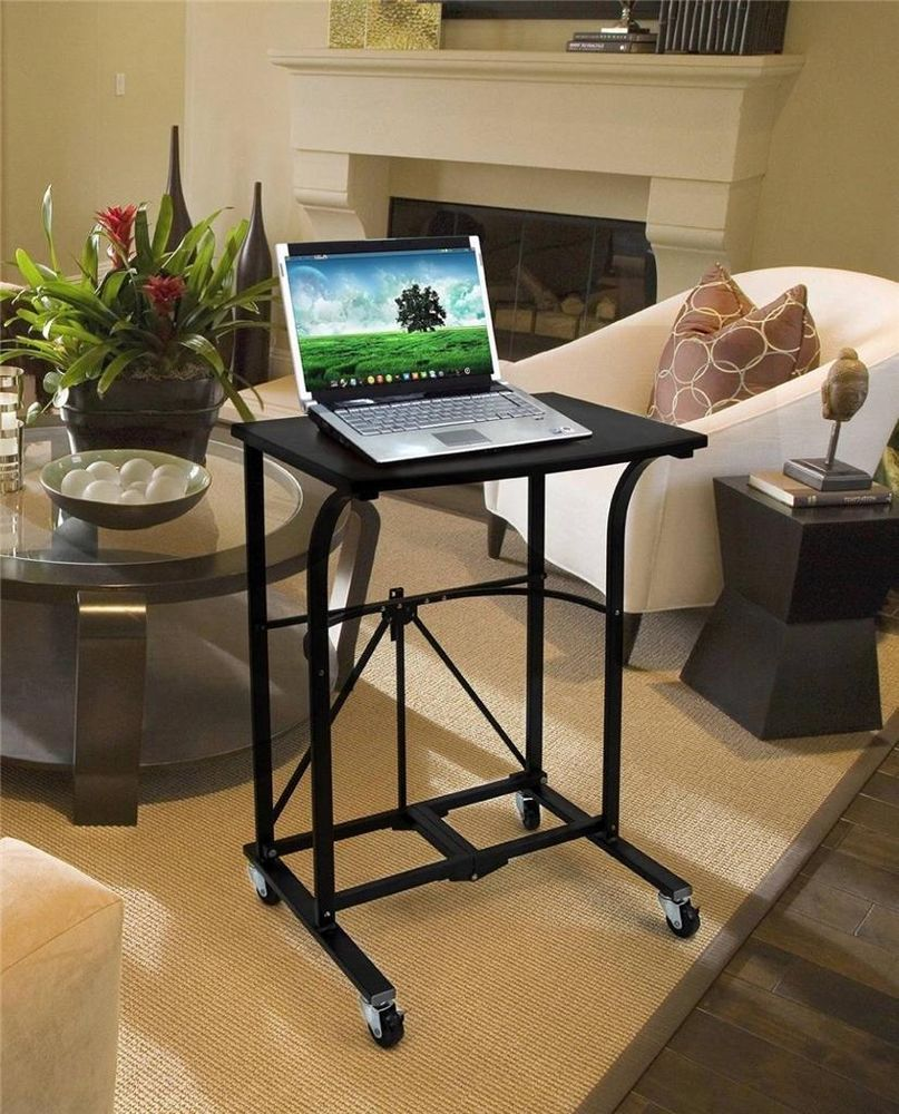 Origami 10 Second Laptop Trolley Folding Roll Away Computer Desk Rdp 01 Desk Computer Desk Workstation