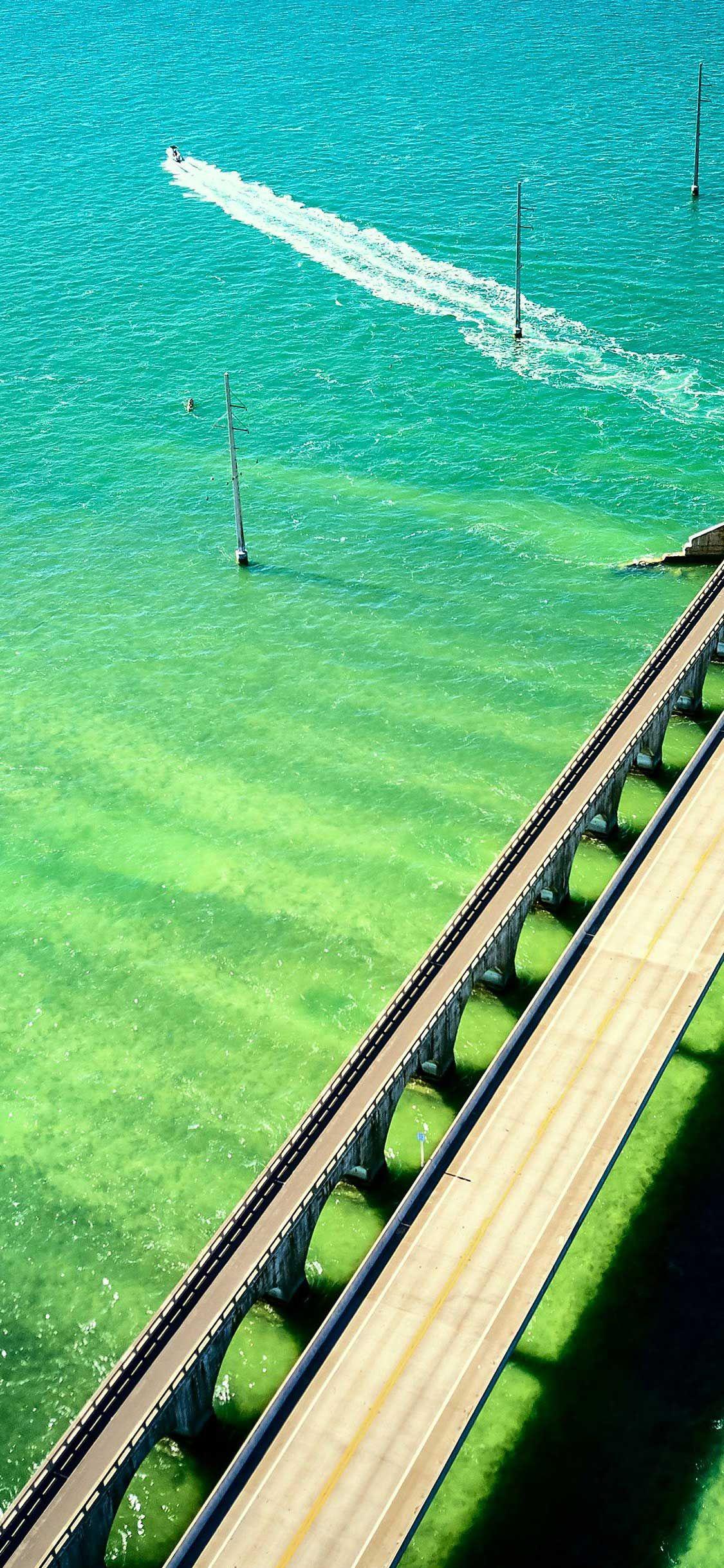 Iphone Wallpaper Seven Mile Bridge Aerial View Florida Keys United States Hd Hd Best Nature Wallpapers Iphone Wallpaper Aerial View