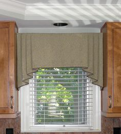 Modern Window Treatments | stroke modern kitchen curtains is a contemporary window treatment ...