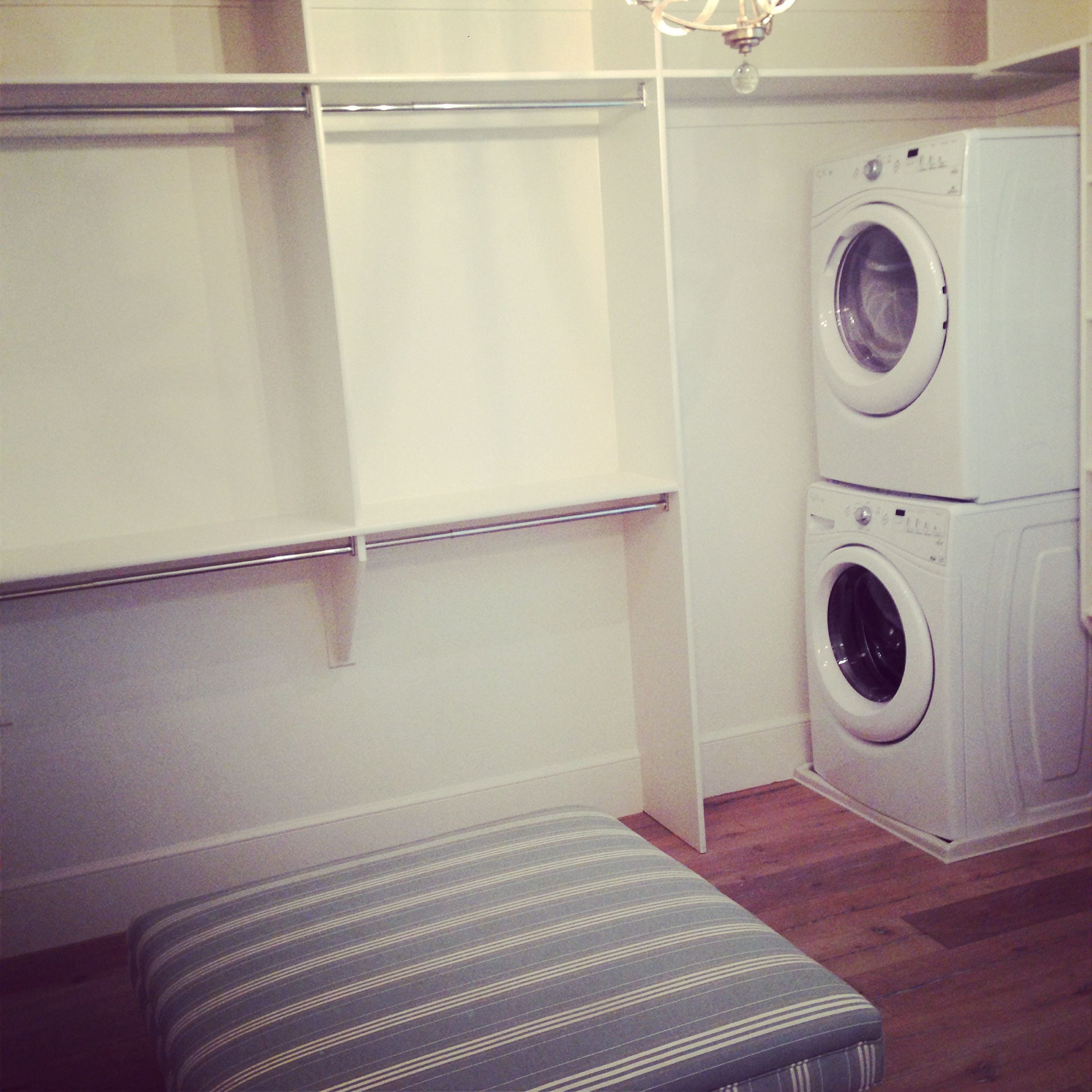 Best Large Master Closet With Plenty Of Storage And A Washer 400 x 300