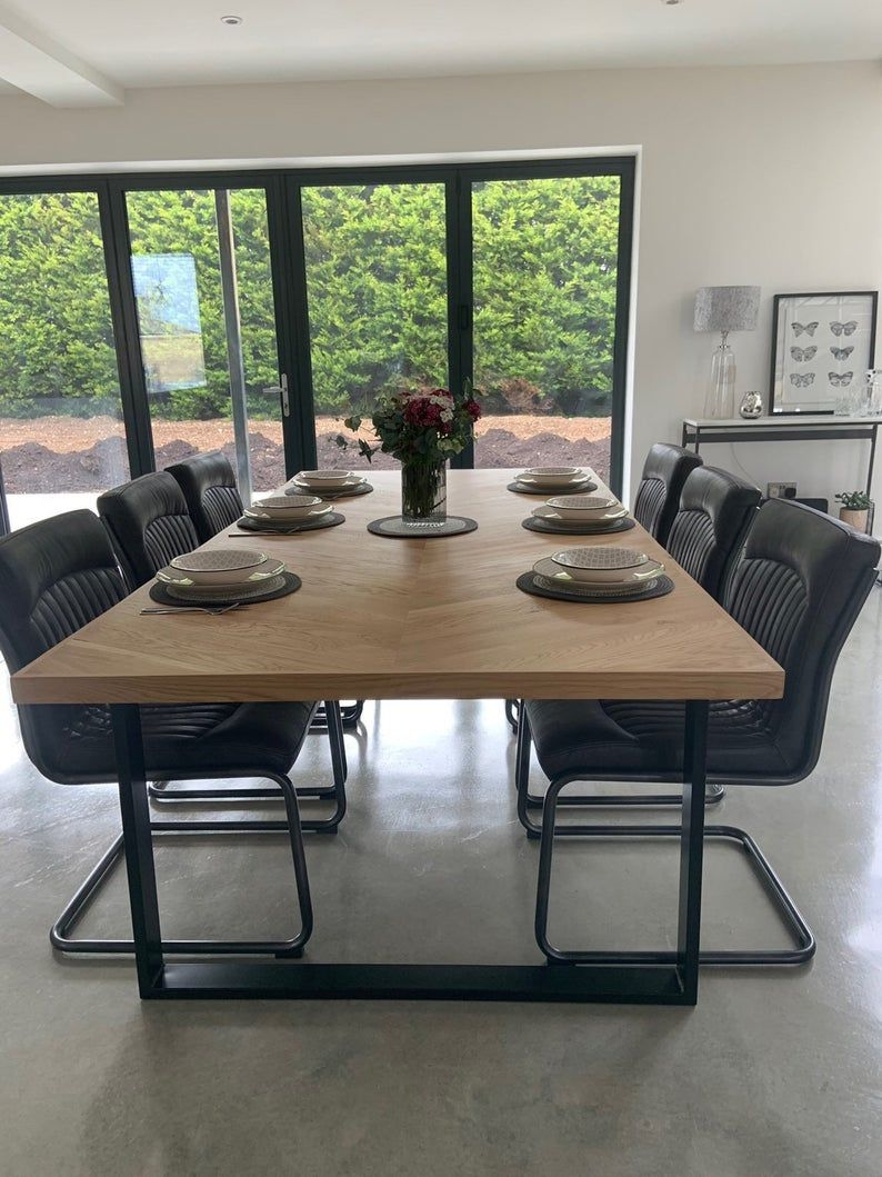45+ Oak dining table and 8 chairs Ideas