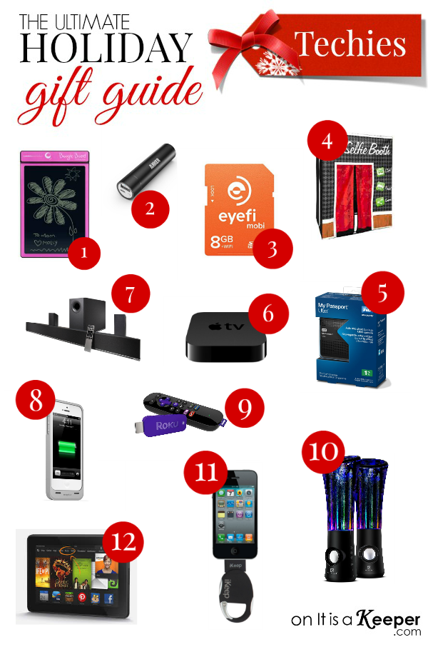 Holiday Gift Guide Techies - It Is a Keeper | Holiday gift ...