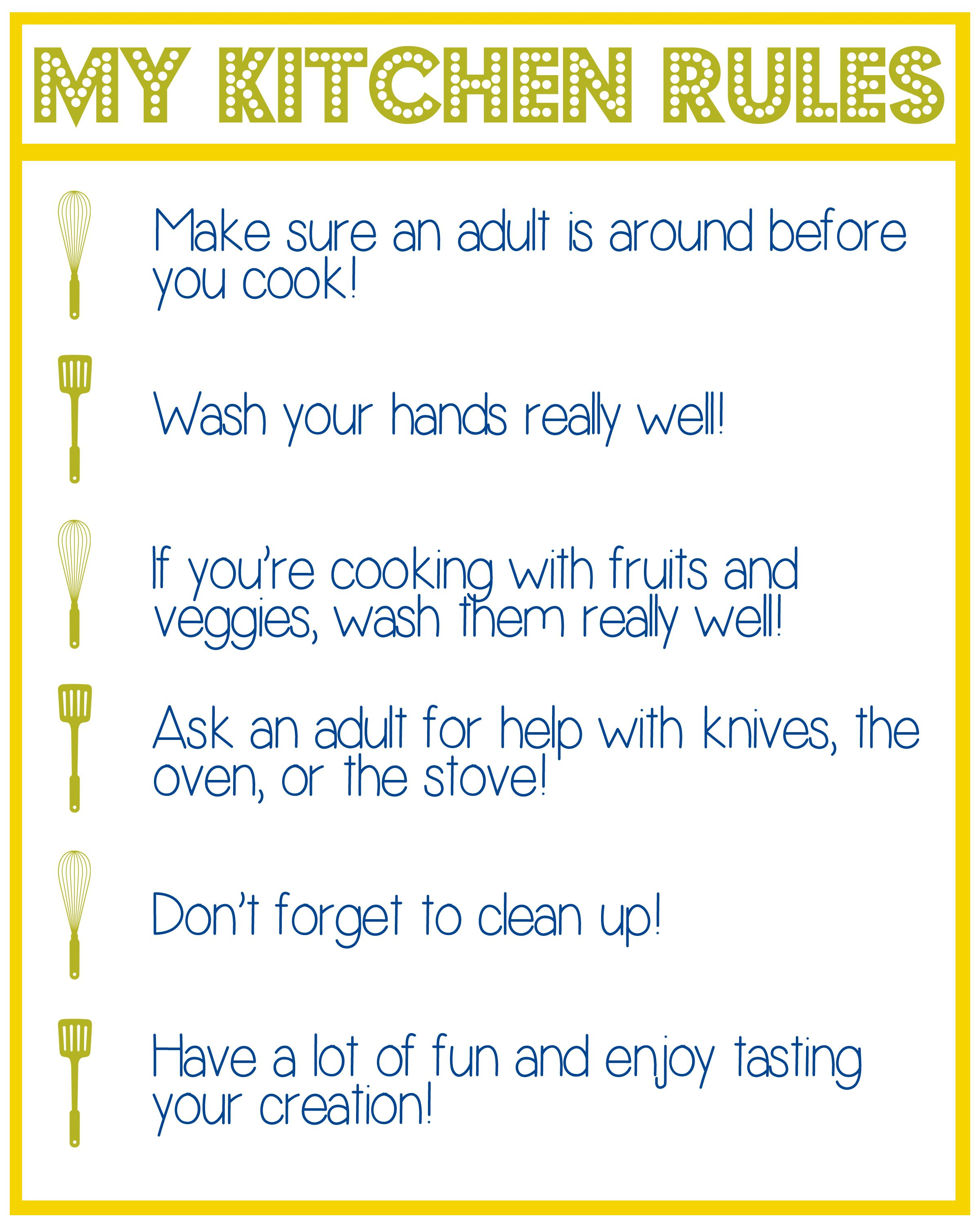 beautiful Kitchen Safety Rules For Students #7: 1000+ images about Kids kitchen on Pinterest | Fruits and vegetables, Vegetables and ESL