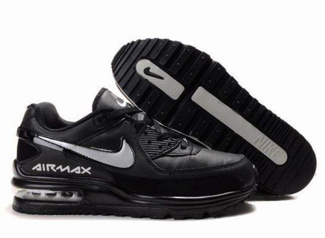 r01mi Homme Nike Air Max LTD NoirSilverB En ligne Acheter