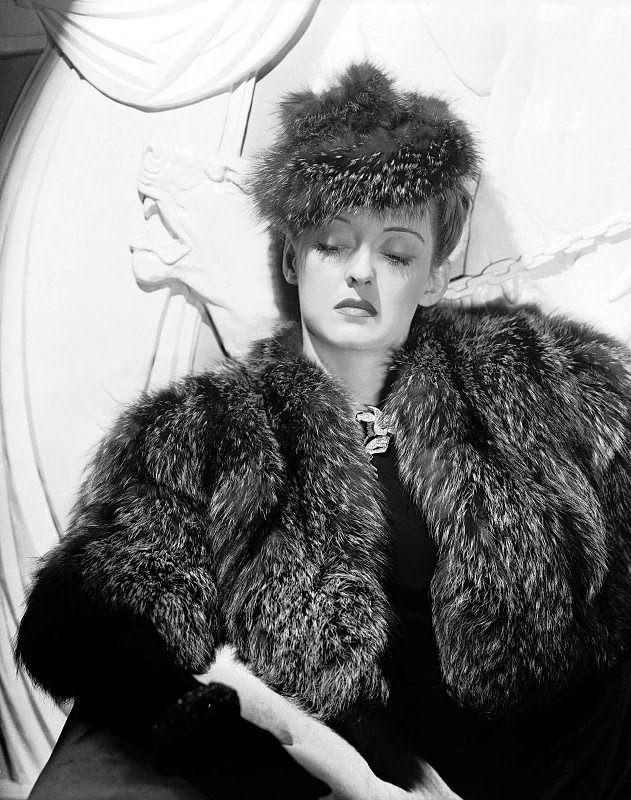 Wehadfacesthen Bette Davis publicity shot for emNow Voyager emIrving Rappe