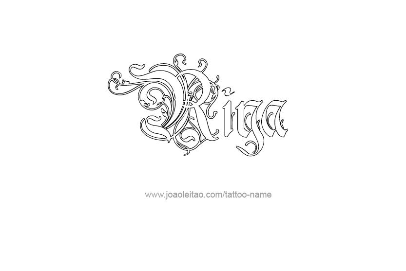 Riya Name Tattoo Designs Name Tattoo Designs Name Tattoos Name Tattoo